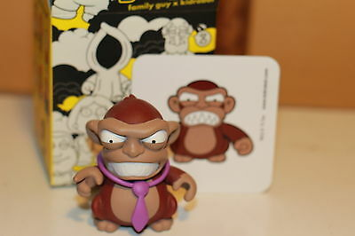 FAMILY GUY ANGRY MONKEY KIDROBOT FIGURE BRAND NEW IN BOX W/ TIE, CARD! free ship