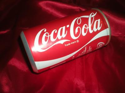 Old 70's Made At The Pensacola Hygea Coca Cola Bottling Company Coke Can Bank