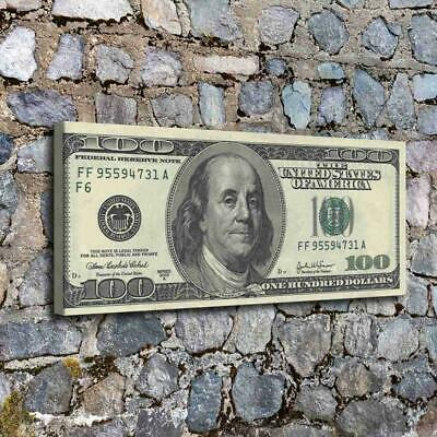 12X28 The dollar art HD Canvas Print Home Decor Pictures Room Wall Art Paintings