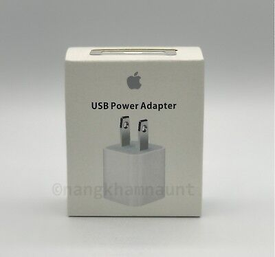 OEM 5W USB Wall Charger Cube Power Adapter for Apple iPhone iPod 5 6 7 8 Plus X