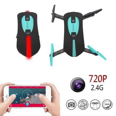 JY018 Mini Drone Foldable WiFi HD FPV 0.3MP Camera Quadcopter Selfie RC Drones