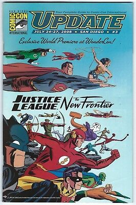 San Diego Comicon SDCC Update #4 2007 Justice League New Frontier Darwyn Cooke