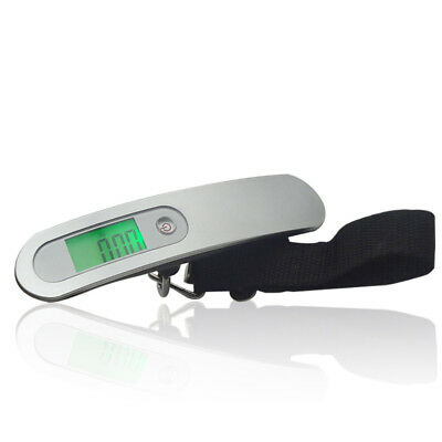 Digital Suitcase Luggage Scales Up to 110lb Travel LCD Hanging Electronic Scales