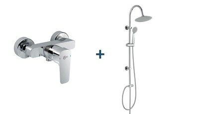 grohe thermostat grohtherm 800 hm regendusche shower. Black Bedroom Furniture Sets. Home Design Ideas