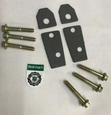 Bearmach Land Rover Defender Windscreen Bulkhead Bracket Bolts & Gasket Set