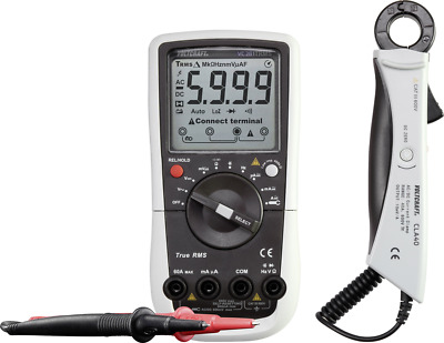 VOLTCRAFT VC281 Hand-Multimeter, Stromzangen-Adapter digital Kalibriert nach: We