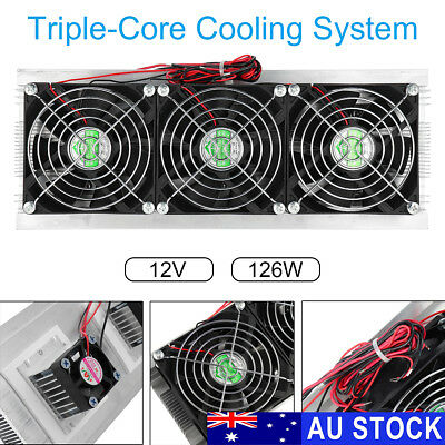 12V Peltier Semiconductor Air Refrigeration Thermoelectric Cooling Cooler System