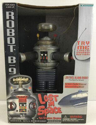 Robot B9 Lost In Space (1997) Working - 12 inches