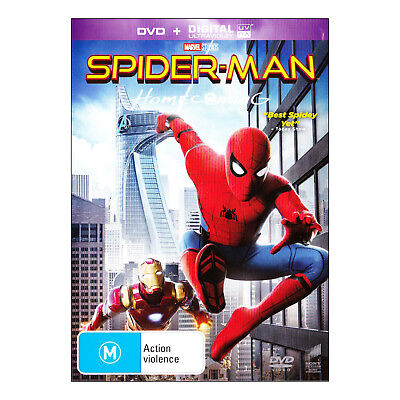 Spider-Man - Homecoming DVD PAL New - Adventure, Science-Fiction, 128 Mins (M)