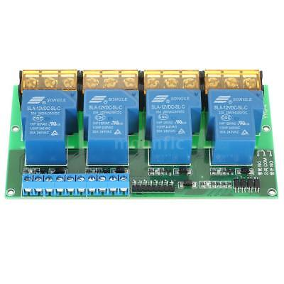 4-Channel Control Board Module DC 12V 30A Relais Optocoupler Isolation B2Z4