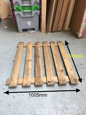 Decking floor for pallet racking 1100mm long span industrial shelving