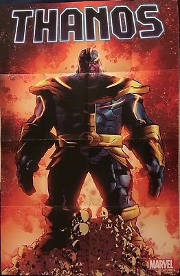 Thanos #1 NOW Mike Deodato 36 x 24 Folded Promo Poster (Marvel, 2016) NEW