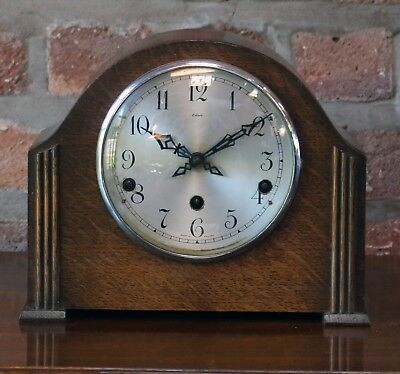 Art Deco Chiming Clock Enfield