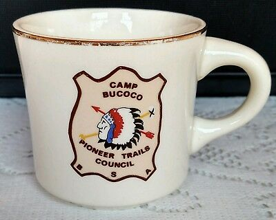 Boy Scouts of America Camp Bucoco Pioneer Trails Council Mug