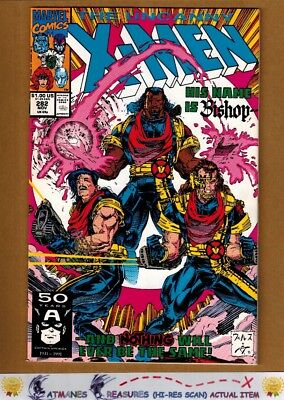 Uncanny X-Men #282 (9.4-9.6) NM+ 1st Bishop Appearance 1991 Copper Age