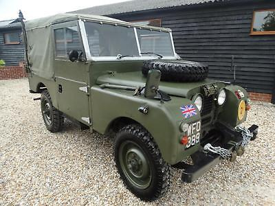 1963 Land Rover Series 1 Series One 86 Inch