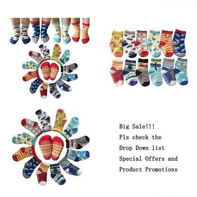 Assorted Non-Skid Home & Kitchen Features Ankle Cotton Socks Grip For 12-36 2,