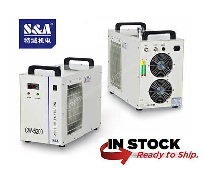 Genuine S&A CW-5200DH Industrial Water Chiller 110V 60hz 2 year warranty USA
