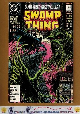 Swamp Thing #53 (8.0-8.5) VF+ Batman Appearance 1986 Copper Age By Alan Moore