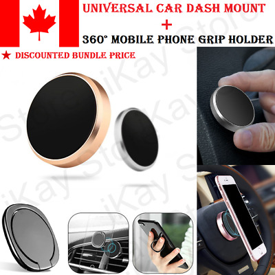 Universal Magnetic Car Dashboard Holder Mount Stand For Mobile Cell Phone GPS