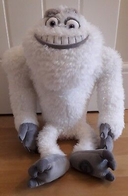 Yeti Plush Soft Toy From Monsters Inc 18 Disney Store Pixar Rare