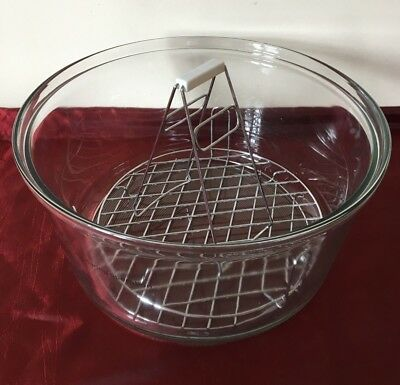 Jml Halowave Oven - Glass Bowl /   Low & High Racks & Tongs