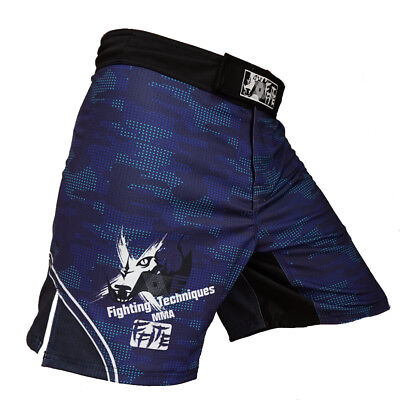 MMA Hosen FIGHTING TECHNIQUES Sporthose Boxen UFC Gear Kickboxen Muay Thai Short