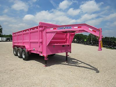 "Dump Trailer--16X83--Gooseneck--3/7000--48"" Sides---Load Trail--Brand New 2017"