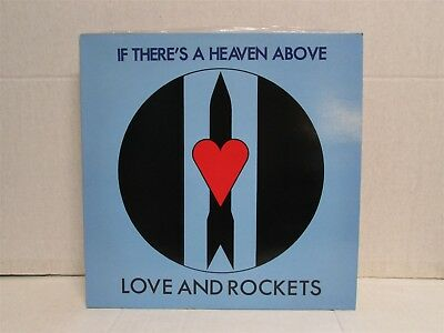 "LOVE AND ROCKETS If There's A Heaven Above 1985 12"" VINYL Bauhaus UK Import"