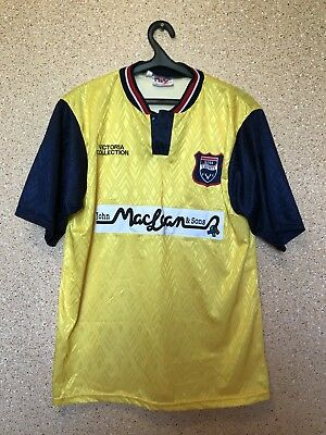 Ross County 1996/1997/1998 Away FOOTBALL SHIRT JERSEY MAGLIA Vintage