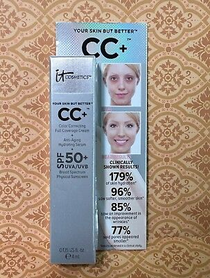 """it Cosmetics Your Skin But Better CC+ Cream 0.135oz """"CHOOSE YOUR COLOR"""""""