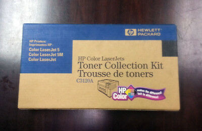 Genuine HP C3120A Toner Collection Kit SEALED NEW IN BOX