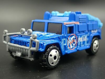 1992-2006 Hummer Humvee H1 Police Rare 1:70 Scale Collectible Diecast Model Car