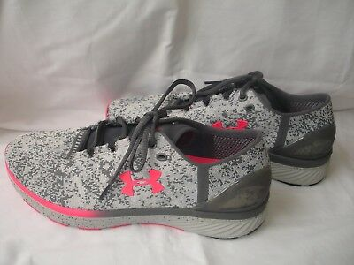 new arrival 0b650 723bc NWOB Under Armour Bandit 3 Shoes - Gray and Pink - Womens 10.5