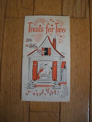 1930s Rumford Recipe Booklet - Treats for Two - Collectible