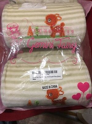 Gemini Fairy Newborn Infant Prevent From Flat Head Baby Head Support Pillow (...