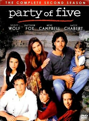 Party Of Five Second Dvd Season 2 New Factory Sealed Free Shipping Tracking Us