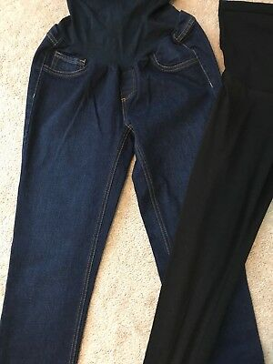 Maternity Jessica Simpson skinny jeans & leggings lot, small long, small