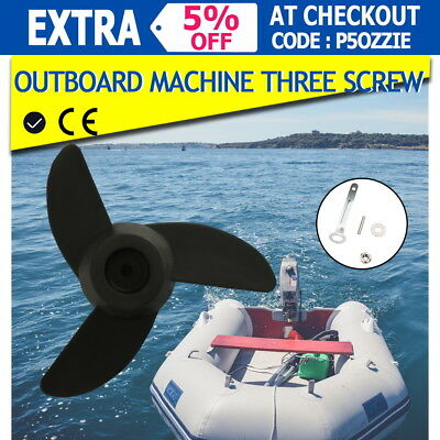 New Electric Trolling Motor  3-Propeller 46lb, 60lbs, 90lb Outboard Boat servic