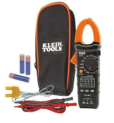 NEW! Klein Tools CL310 Digital Clamp Meter, AC Auto-Ranging, 400A, TRMS True RMS