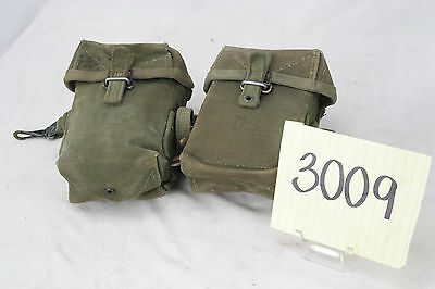 Pair Of Us Vietnam M56 Ammo Pouches Clean Condition