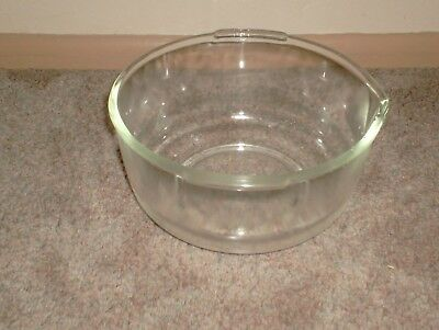 Fire King Ware for Sunbeam clear glass bowl with pour spout