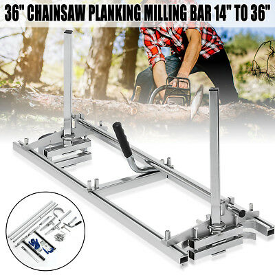 Portable Chain Saw Chainsaw Mill 36'' Planking Milling Timber Lumber 14'' - 36''