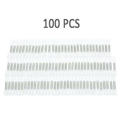 100Pcs Solder Manchon Thermorétractable Butt Fil Connecteur 26-24AWG Z5K0