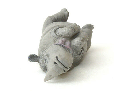 Takara TOMY ARTS Panda's Ana Sleeping Zoo Animal rhinoceros rhino US seller New