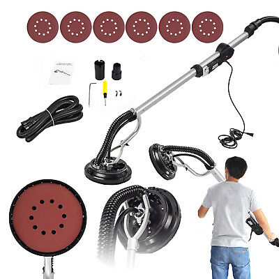 Drywall Sander 650W Electric Adjustable Variable Speed Drywall Sanding Black