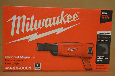 Brand New Milwaukee 49-20-0001 Tapered Nose Collated Drywall ScrewGun Attachment