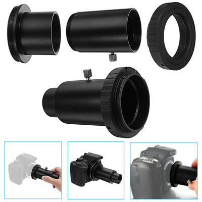 for Canon EOS To Telescope Camera Extension Tube T- Ring Mount Adapter 1.25 Inch