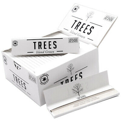 Kin*g Pap*er Hemp Rolling Papers 108*45mm 25 Booklets=800 leaves smoking