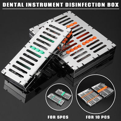 Dental Instrument Sterilization Autoclave Cassette Tray Box Rack Rubber Linker